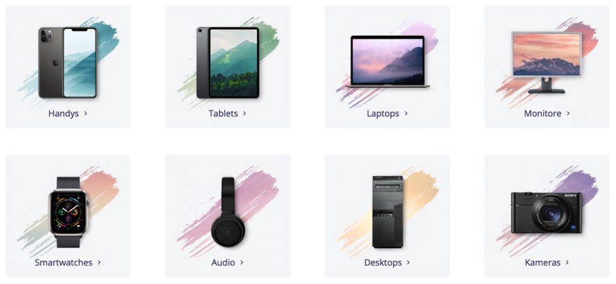 Erneuerte Geräte kaufen